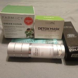 Skin care make up remover
